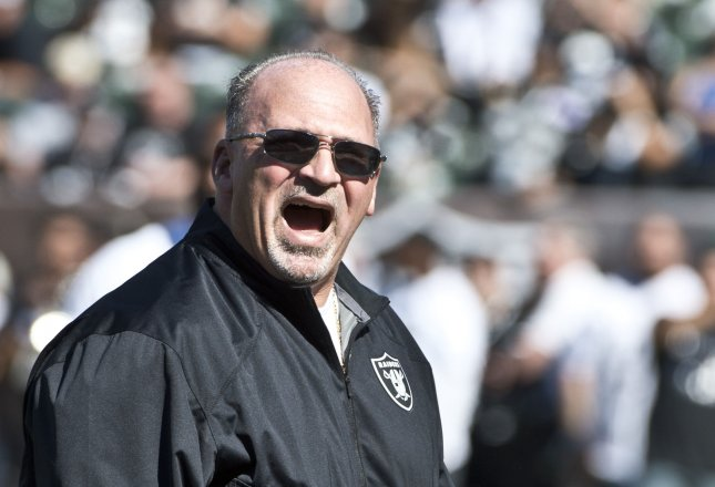 Former NFL head and assistant coach Tony Sparano passed away earlier this week. File photo by Terry Schmitt/UPI