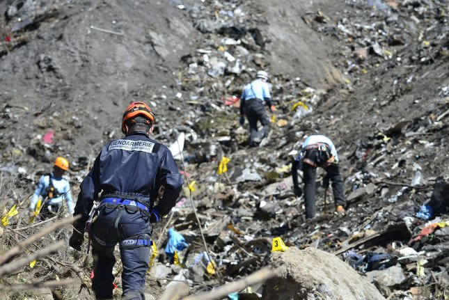 On March 24, 2015, a Germanwings plane carrying 150 people, including German high school students, crashed in the French Alps in southern France. Everyone on board died. Photo by Francis Pellier/MI DICOM
