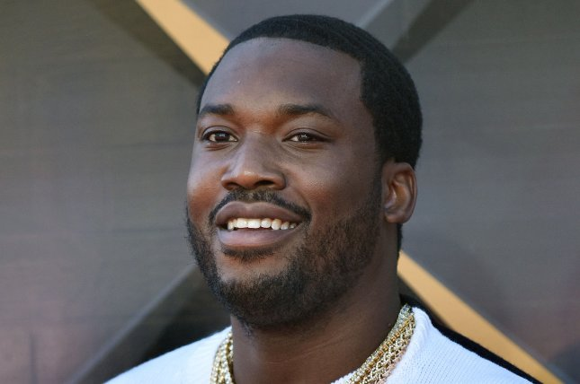 Meek Mill announced on Twitter in a now-deleted post that he and girlfriend Milan Harris have called it quits. File Photo by Chris Chew/UPI