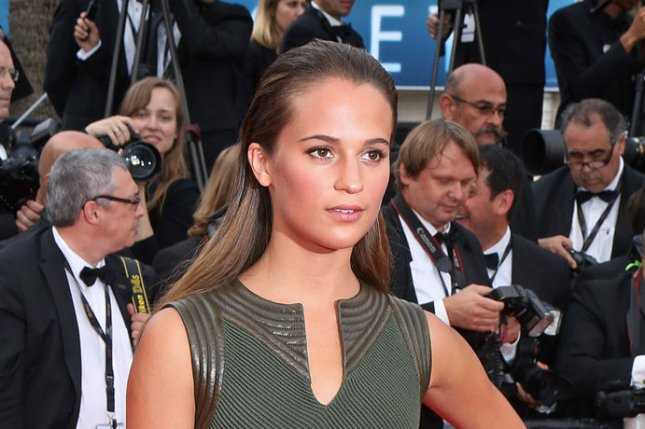 Alicia Vikander at the 68th Cannes International Film Festival on May 19, 2015. The actress will star in the fifth 'Bourne' film. File photo by David Silpa/UPI