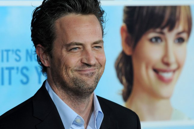 Actor Matthew Perry attends the premiere of the motion picture comedy The Invention of Lying in Los Angeles on September 21, 2009. Photo by Jim Ruymen/UPI