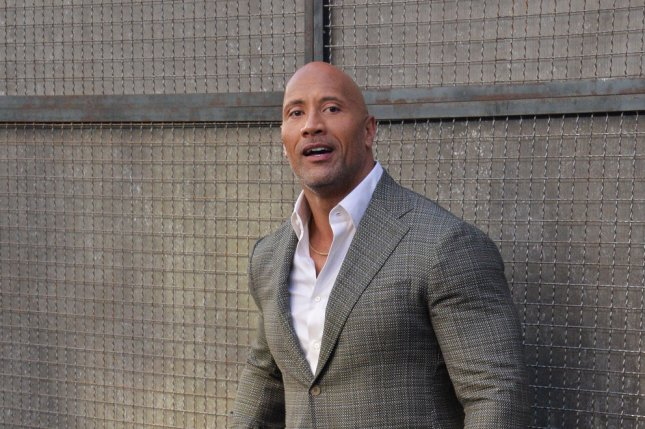 Dwayne Johnson attends the premiere of Rampage at the Microsoft Theater in downtown Los Angeles on April 4. The actor turns 46 on May 2. Photo by Jim Ruymen/UPI