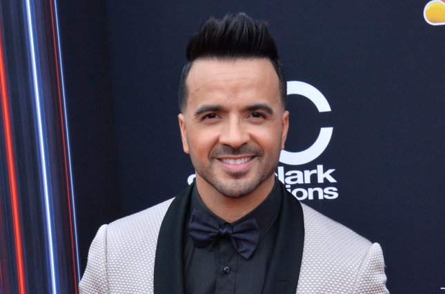 Luis Fonsi will be performing at the 2019 Latin Grammys along with other artists such as Rosalia. File Photo by Jim Ruymen/UPI
