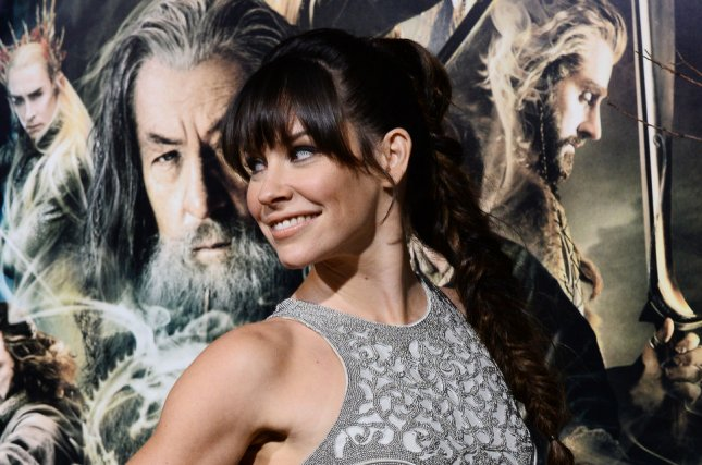 Cast member Evangeline Lilly attends the premiere of The Hobbit: The Desolation of Smaug at TCL Chinese Theatre in the Hollywood section of Los Angeles on December 2, 2013. Storyline: After successfully crossing over (and under) the Misty Mountains, Thorin and Company must seek aid from a powerful stranger before taking on the dangers of Mirkwood Forest--without their Wizard. If they reach the human settlement of Lake-town it will be time for the hobbit Bilbo Baggins to fulfill his contract with the dwarves. The party must complete the journey to Lonely Mountain and burglar Baggins must seek out the Secret Door that will give them access to the hoard of the dragon Smaug. And, where has Gandalf got off to? And what is his secret business to the south? UPI/Jim Ruymen