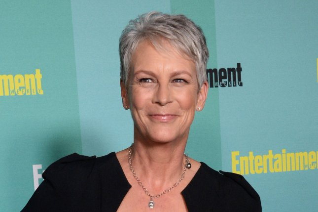 Jamie Lee Curtis at the Entertainment Weekly Comic-Con closing night party on July 11. The actress and her family wore 'Street Fighter' costumes to EVO 2015 over the weekend. File photo by Jim Ruymen/UPI