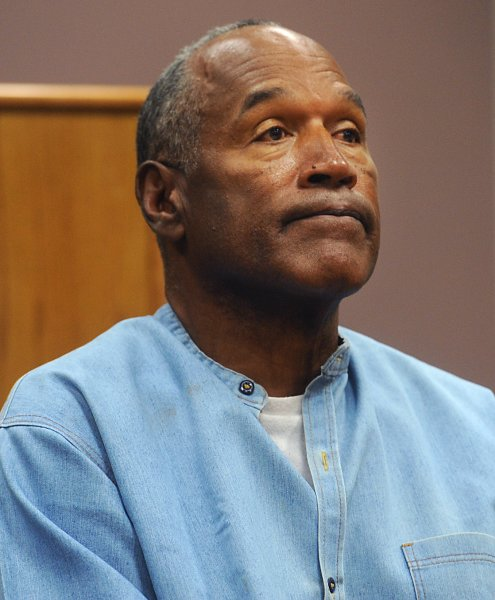 O.J. Simpson, seen here attending a parole hearing at Lovelock Correctional Center during his nine to 33 year prison term for a 2007 armed robbery and kidnapping conviction, posted a video to Twitter late Friday proving he has joined the social media platform. File photo by Jason Bean/UPI