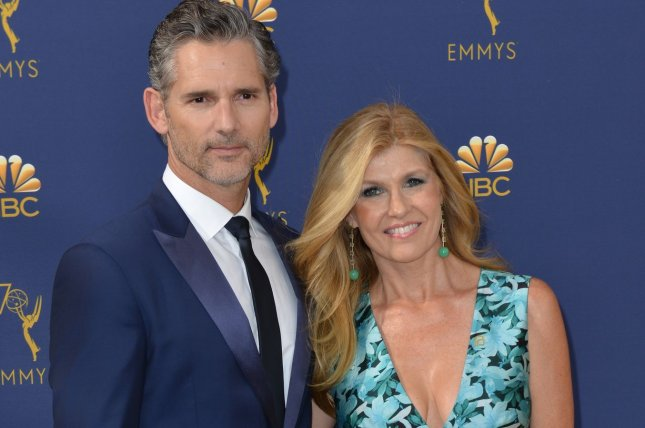 Eric Bana (L) and Connie Britton star on Bravo's Dirty John, based on a popular podcast.  File Photo by Christine Chew/UPI