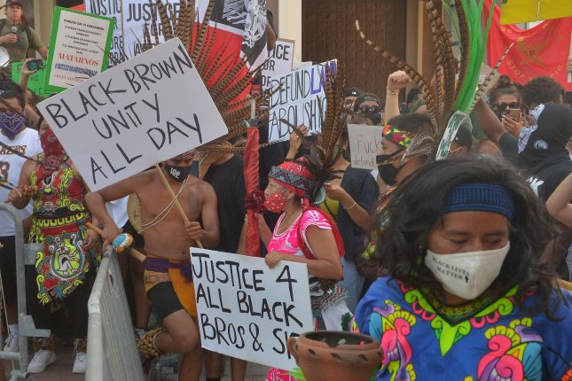The role of ethnic conflict, as seen in recent protests against police brutality, are a predictor of state failure. Photo by Jim Ruymen/UPI