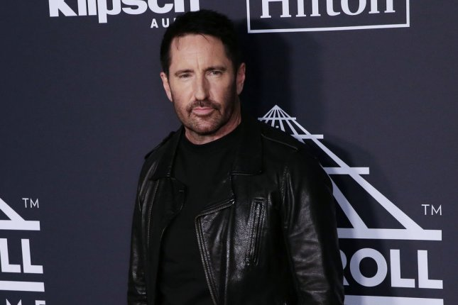 Trent Reznor (pictured) and Atticus Ross lead the nominations for the Society of Composers & Lyricists' SCL Awards. File Photo by John Angelillo/UPI
