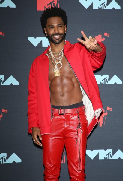 Big Sean poses for photos in the press room during the 36th annual MTV Video Music Awards at the Prudential Center in Newark, N.J., on August 26, 2019. The rapper turns 33 on March 25. File Photo by Monika Graff/UPI