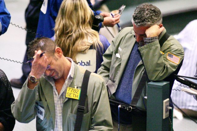 Stocks were up sharply at the close Monday
