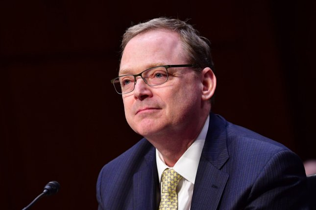 Kevin Hassett, chairman of the Council of Economic Advisers, testifies during a Congressional Joint Economic Hearing on the Economic Report of the President, on Capitol Hill in Washington, D.C., on March 7, 2018. Photo by Kevin Dietsch/UPI