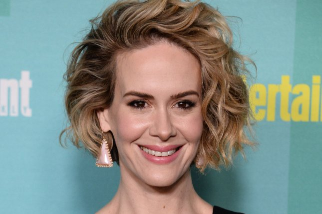 Sarah Paulson at Entertainment Weekly's San Diego Comic-Con closing night party on July 11. The actress will return to star on 'American Horror Story: Hotel.' File photo by Jim Ruymen/UPI