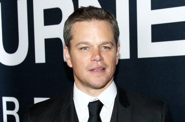 Matt Damon at the Las Vegas premiere of Jason Bourne on July 18. The actor stars in The Great Wall. File photo by James Atoa/UPI