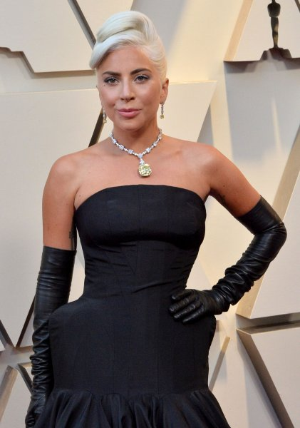 Singer, songwriter and actress Lady Gaga arrives on the red carpet for the 91st annual Academy Awards in Los Angeles on Sunday. Photo by Jim Ruymen/UPI