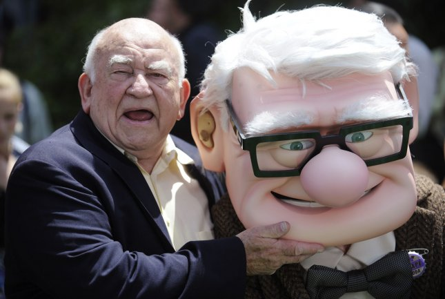Ed Asner attends the premiere of the animated film Up in Los Angeles on May 16, 2009. (UPI Photo/ Phil McCarten)