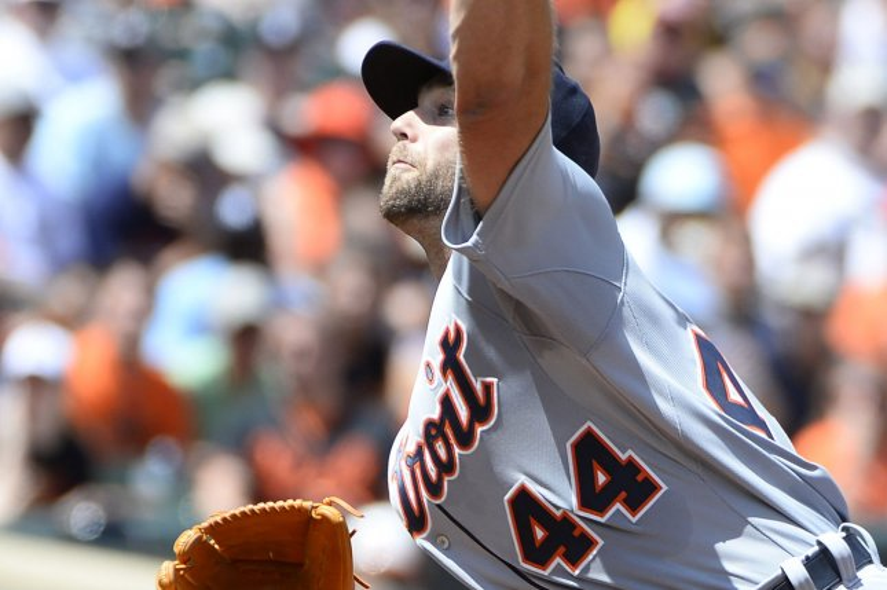 Detroit Tigers starting pitcher Daniel Norris. Photo by David Tulis/UPI
