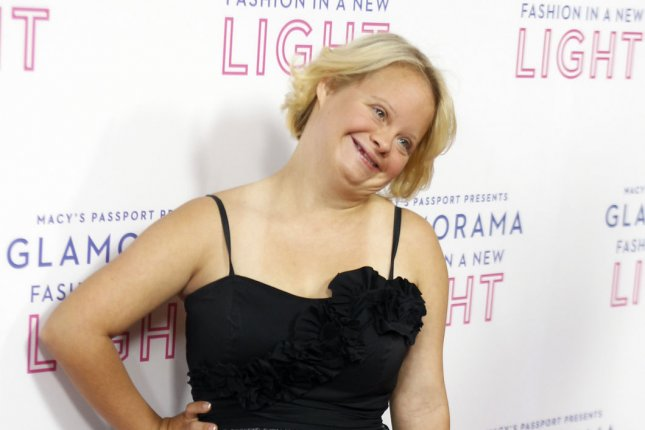 Lauren Potter at Macy's Passport Presents: Glamorama on September 12, 2013. The actress is engaged to longtime friend Timothy Spear. File Photo by Alex Gallardo/UPI