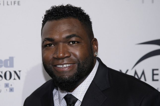 David Ortiz arrives on the red carpet at the Sports Illustrated Sportsperson of the Year Ceremony 2016 at Barclays Center on December 12, 2016 in New York City. LeBron James was honored as the 2016 Sports Illustrated Sportsperson of the Year alongside special guest Michael Phelps and 2016 Sports Illustrated Muhammad Ali Legacy Award Winners Kareem Abdul-Jabbar, Jim Brown and Bill Russell. Photo by John Angelillo/UPI