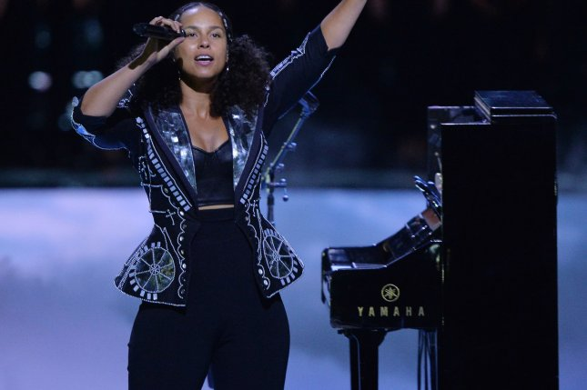 Singer Alicia Keys is to serve as a coach on Season 14 of The Voice. File Photo by Jim Ruymen/UPI