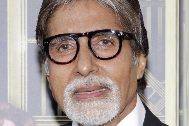 Indian actor Amitabh Bachchan, shown here at the world premier of The Great Gatsby in New York City in May 2013, was hospitalized Saturday after testing positive for COVID-19. UPI/John Angelillo
