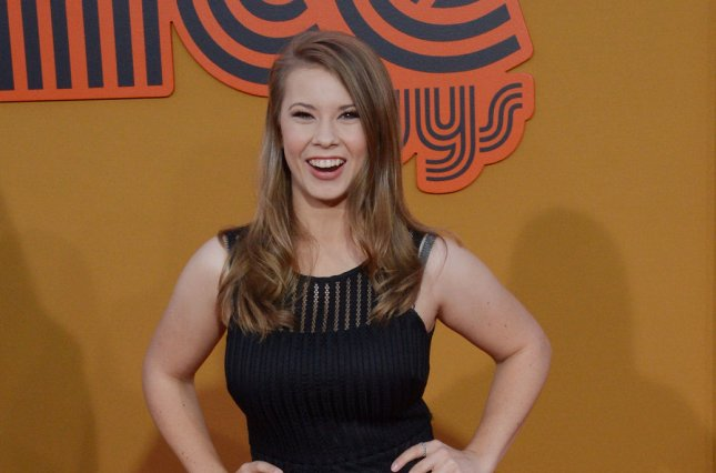 Actress/conservationist Bindi Irwin attends the premiere of the comedy thriller The Nice Guys in Los Angeles on May 10, 2016. File Photo by Jim Ruymen/UPI