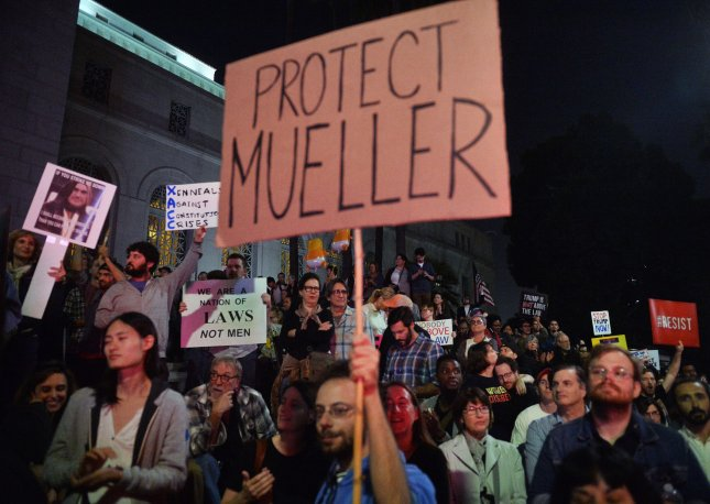 Senate Republicans again blocked a vote on a bill seeking to protect special counsel Robert Mueller. File Photo by Jim Ruymen/UPI