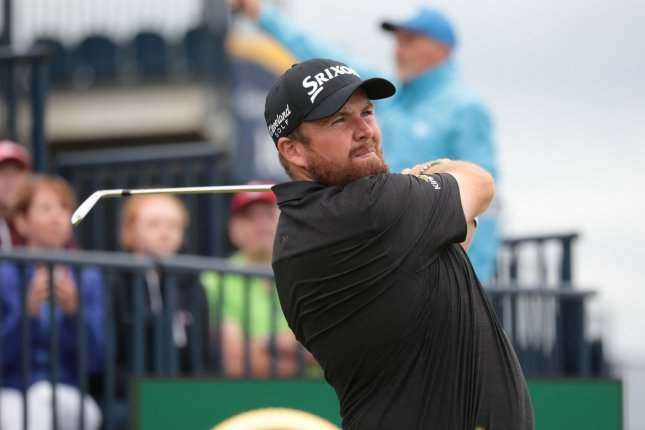 Shane Lowry shot eight-under on Saturday to increase his lead at the 2019 British Open. Photo by Hugo Philpott/UPI