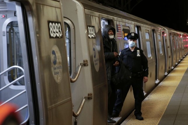 While the air in most subway stations is dirty, researchers say the New York City subway system has the worst air. File Photo by John Angelillo/UPI