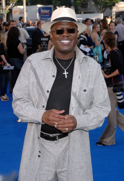 Actor Bernie Mac, seen here in this June, 27, 2007 file photo at the premier of the move Transformers, died Saturday morning in a Chicago area hospital of complications from pneumonia, according to his publicist, August 9, 2008. Mac was 50 years old. (UPI Photo/Jim Ruymen/Files)