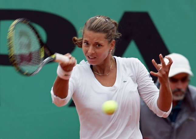 Petra Cetkovska, shown in a 2009 file photo, posted an upset win Thursday over No. 1-seeded Li Na at the Qatar Total Open WTA tournament. (UPI Photo/Eco Clement)