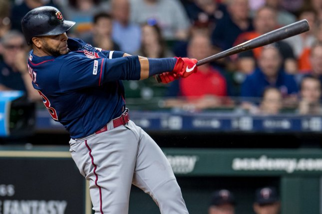 Nelson Cruz, who joined the Minnesota Twins before the 2019 season, will play on a one-year contract in 2021. File Photo by Trask Smith/UPI