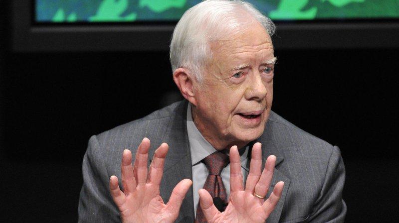 Former U.S. President Jimmy Carter. (File/UPI/Brian Kersey)