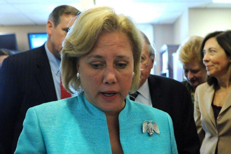 Sen. Mary Landrieu, D-La. UPI/Kevin Dietsch