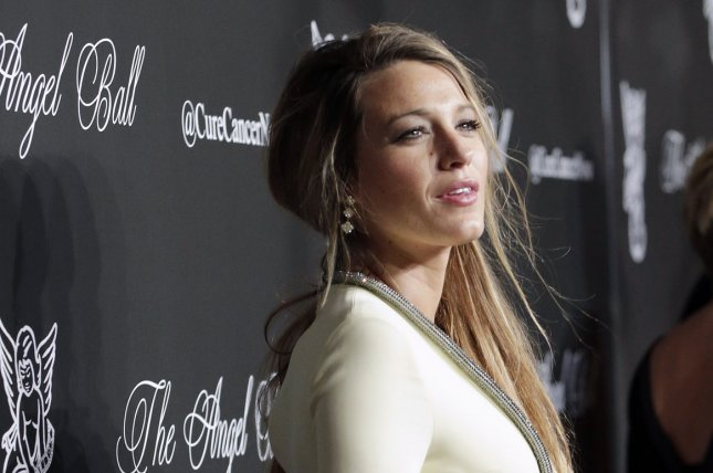 Actress Blake Lively arrives on the red carpet at The Angel Ball, presented by Gabrielle's Angel Foundation, at Cipriani in New York City on Oct. 20, 2014. Photo by John Angelillo/UPI