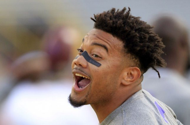 LSU RB Derrius Guice declares for 2018 NFL Draft class=