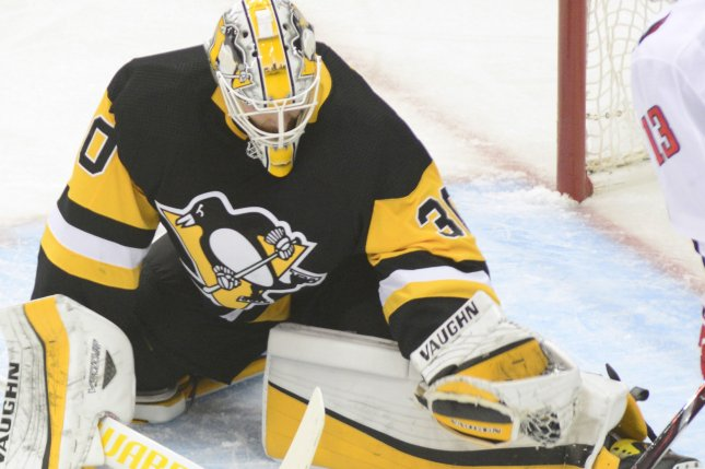4b4a23898de Matt Murray and the Pittsburgh Penguins face the Detroit Red Wings on  Thursday. Photo by Archie Carpenter UPI