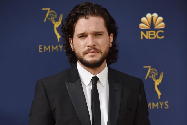 Kit Harington will host the April 6 episode of Saturday Night Live. File Photo by Christine Chew/UPI