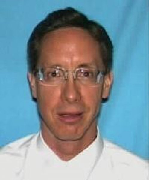 Warren Steed Jeffs, the fugitive leader of a polygamist Mormon sect and one of the FBI's 10 most wanted, was arrested in a traffic stop outside Las Vegas, the Nevada Highway Patrol said on August 29, 2006. (UPI Photo/FBI/HO)