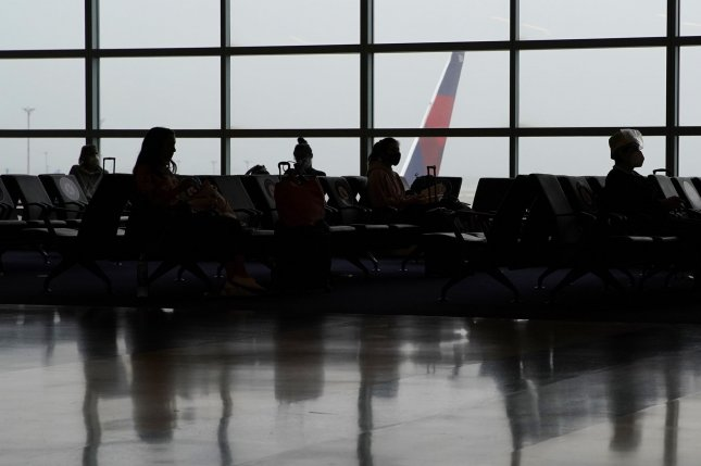Gates at New York City'sJohn F. Kennedy International Airport are sparse with travelers on August 4, as the pandemic has seriously depressed demand for air travel. File Photo by John Angelillo/UPI