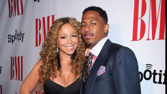 Mariah Carey and husband Nick Cannon. FILE/UPI/Arnold Turner