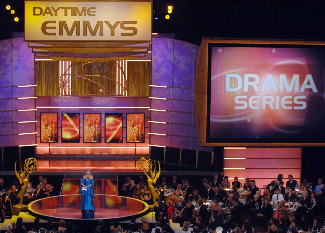 Barbara Walters presents the award for outstanding drama series to General Hospital, during the 35th annual Daytime Emmy Awards at the Kodak Theatre in the Hollywood section of Los Angeles on June 20, 2008. (UPI Photo/Jim Ruymen)