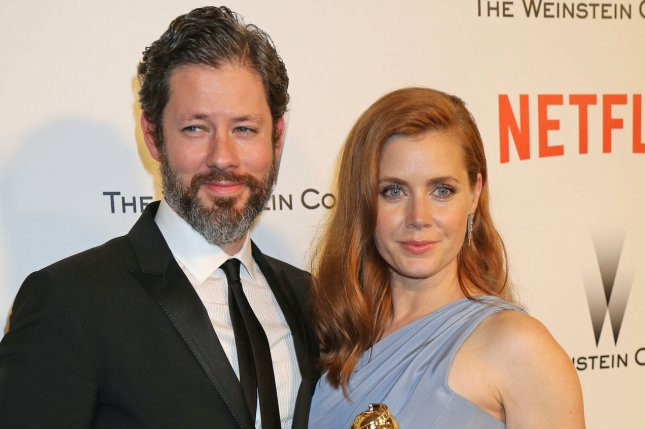 Amy Adams and Darren Le Gallo at The Weinstein Company and Netflix Golden Globes After Party following the 72nd annual Golden Globe Awards in Beverly Hills, Calif. on Jan. 11, 2015. Photo by David Silpa/UPI