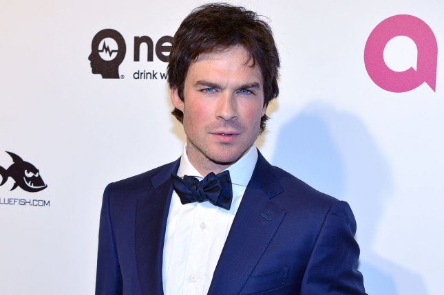 Ian Somerhalder is attached to star in Netflix's V-Wars, based on the IDW book of the same name. File Photo by Christine Chew/UPI