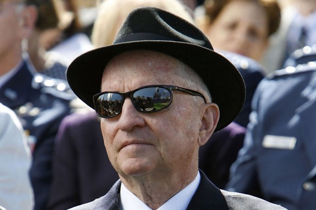 Self-made billionaire and two-time independent presidential candidate H. Ross Perot has died at age 89. File Pool Photo by Chip Somodevilla/UPI