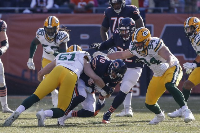 Green Bay Packers defensive lineman Dean Lowry (94) signed a three-year deal worth about $20 million Tuesday. File Photo by Kamil Krzaczynski/UPI
