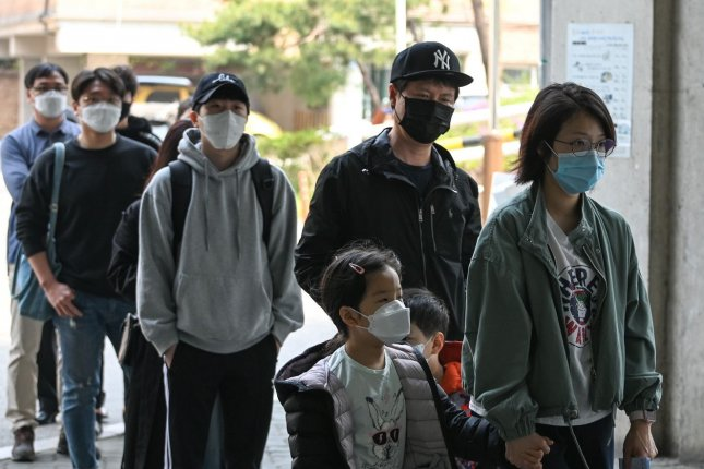 Mask-wearing requirements in South Korea will remain in force, even as other restrictions are eased, the government says. File Photo by Thomas Maresca/UPI