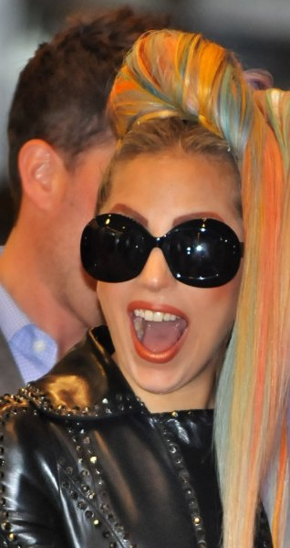 Lady Gaga has been recording her upcoming Artpop album naked because she says it makes her voice sound better, a British tabloid reported. May 8 file photo. UPI/Keizo Mori