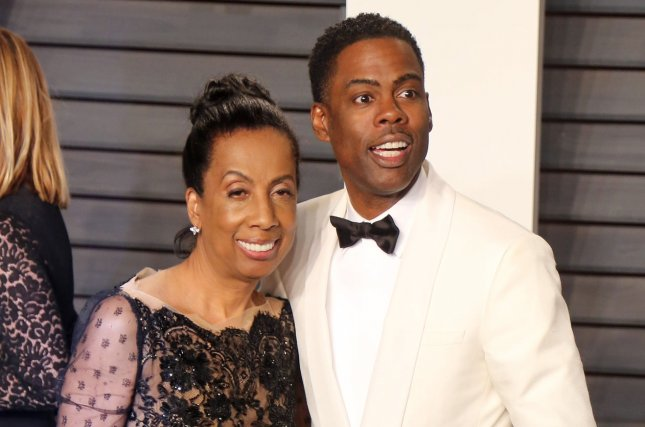 Chris Rock (R), pictured with Rosalie Rock, will star in the new season of Fargo. File Photo by David Silpa/UPI
