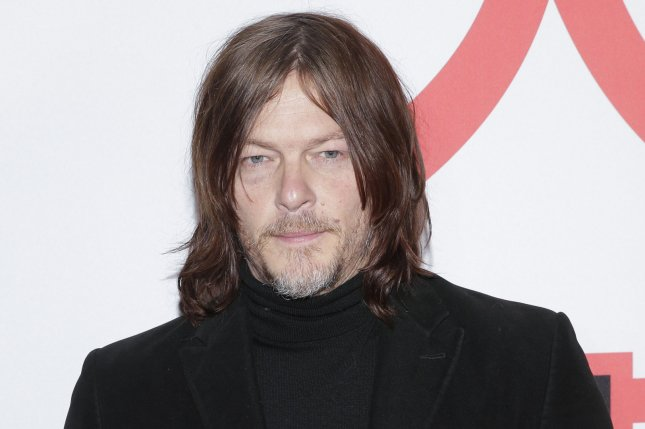 Norman Reedus' The Walking Dead will continue its 10th season on Feb. 28. File Photo by John Angelillo/UPI